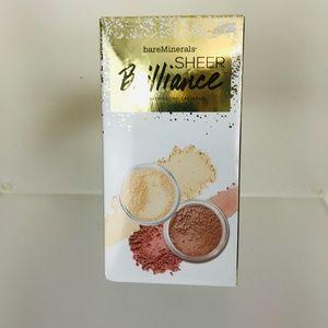 NWT bare Minerals 2-Pc. Sheer Brill complexion duo